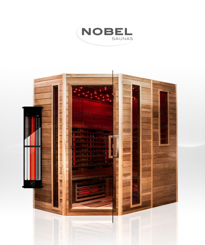Sauna nobel 6pers